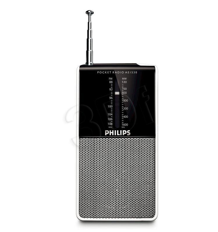 PHILIPS AE1530/00 radio, radiopulksteņi