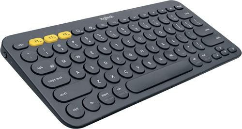 Logitech K380 Bluetooth Keyboard Grey klaviatūra