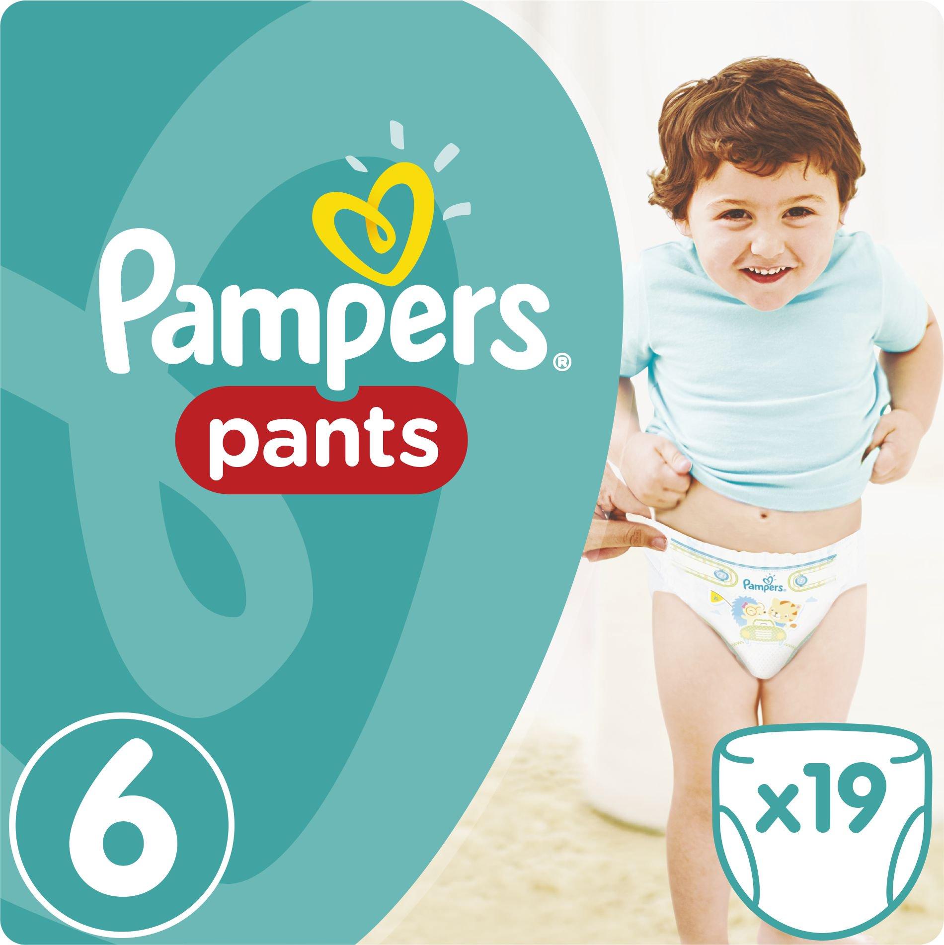 Pampers Pants Pieluchomajtki 6 Extra Large 19 Szt. (673378) 673378