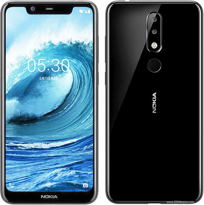 Nokia 5.1 Plus 3GB/32GB Black Mobilais Telefons