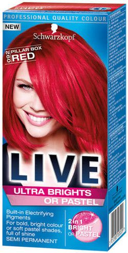 Schwarzkopf LIVE 92 HOT RED