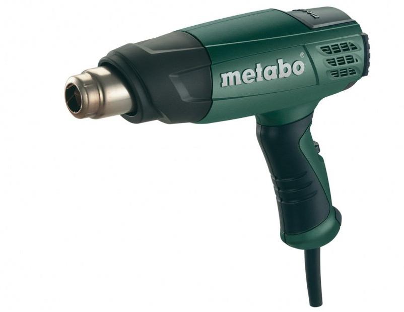 METABO Heat gun H 16-500 1600W - 6.01650.00 celtniecības fēns