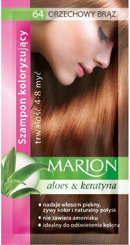 Marion Coloring Shampoo 4-8 wash No. 64 nut brown 40 ml