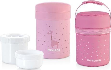 Miniland Thermos for food 700ml pink (ML89227) piederumi bērnu barošanai