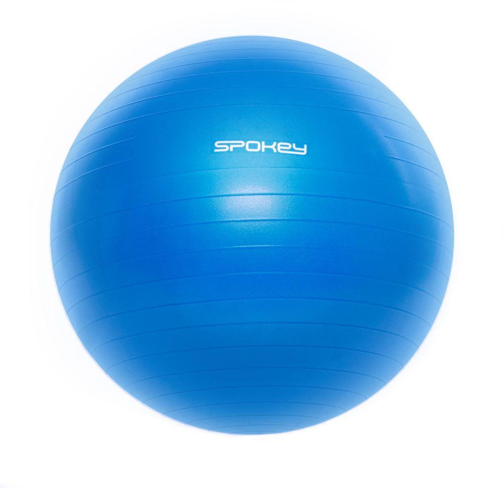 Spokey FITBALL III Gymnastic ball, Non-slip, Anti-burst system, 65 cm, 300 kg, Blue, PVC 5902693209379