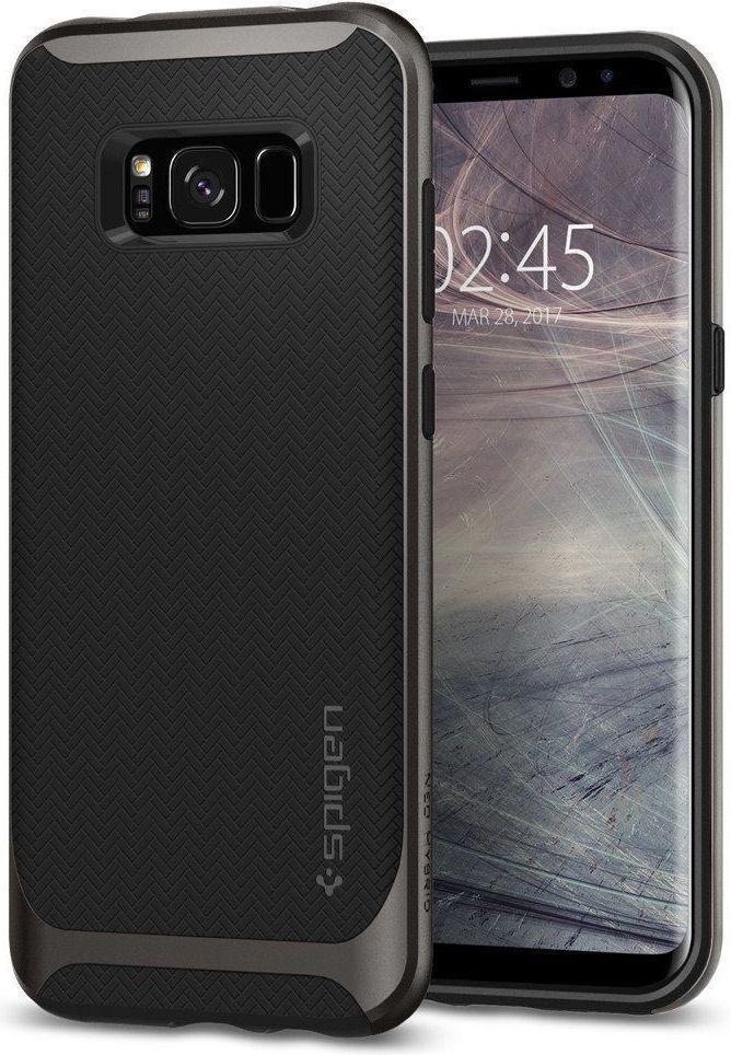 Spigen Neo Hybrid       Gunmetal case Galaxy S8