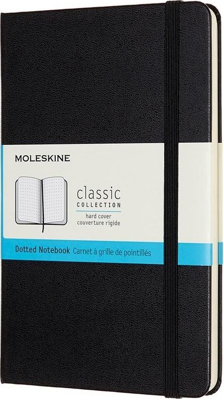 Moleskine Notes Classic 11.5x18 tw. dots black