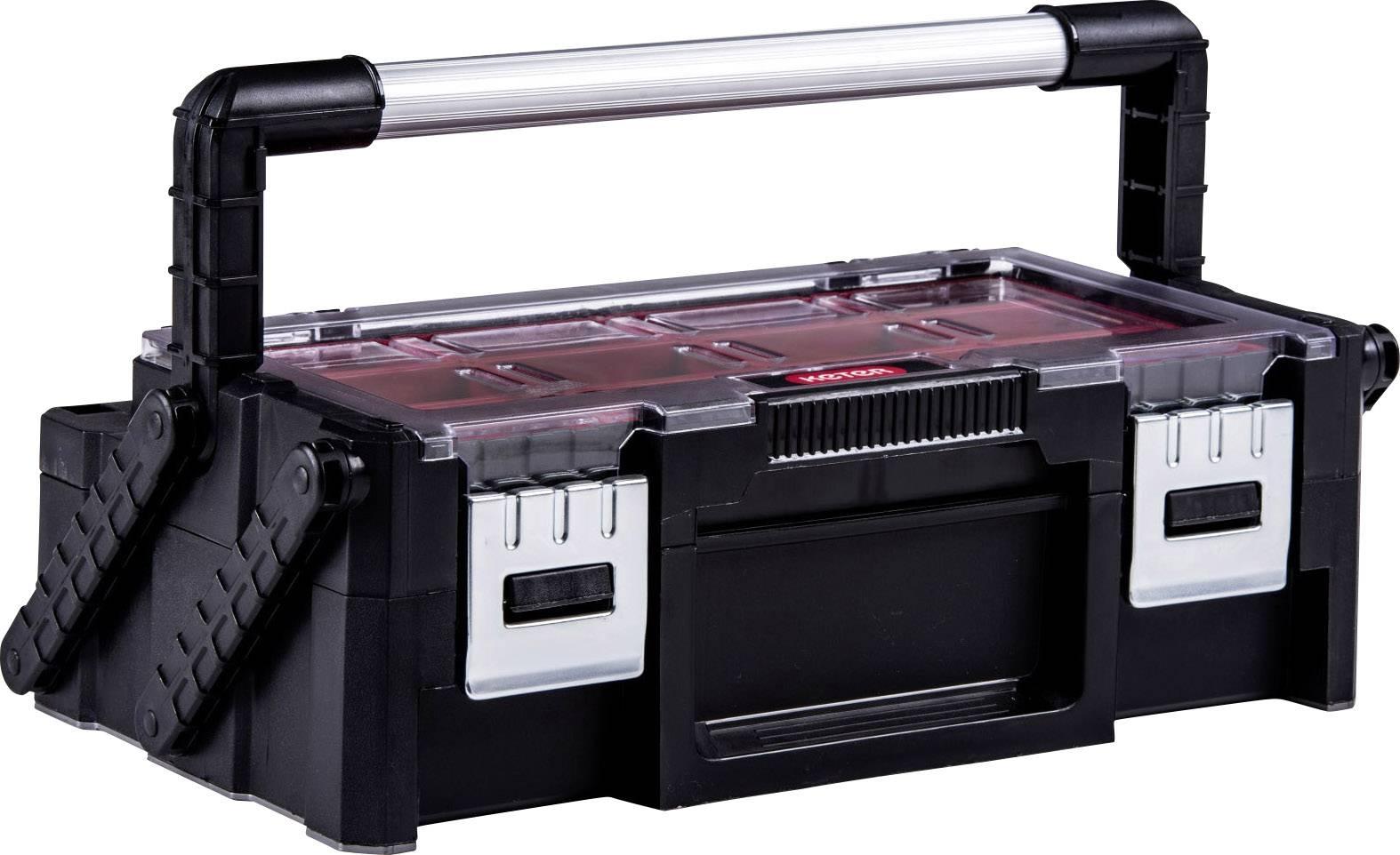 Keter Instrumentu kaste ar 18 nodalijumiem Cantilever Tool Box 18; 45,8x24x14,5cm