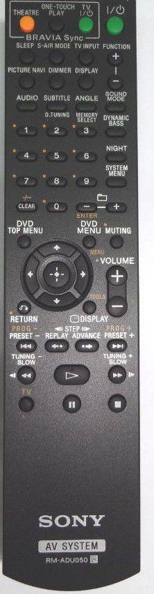 Remote Commander (RMADU050)  RMADU050 Remote Controls pults