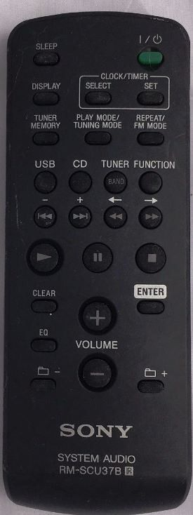 Sony Remote Commander (RM-SCU37B) pults