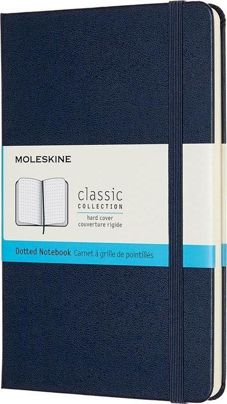 Moleskine Notes Classic 11.5x18 tw. sapphire blue dots