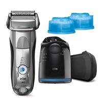 Braun Electric Shaver+ Shaver Silver  7899cc+CCR2 Wet use, Rechargeable, Charging time 1  h, Li-Ion Vīriešu skuveklis