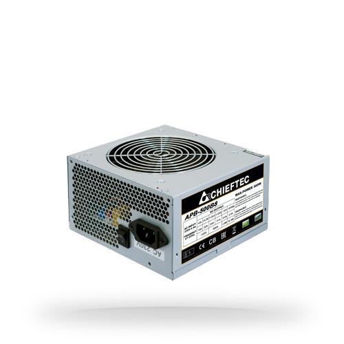 CHIEFTEC | 500 Watts | PFC Active | APB-500B8 Barošanas bloks, PSU