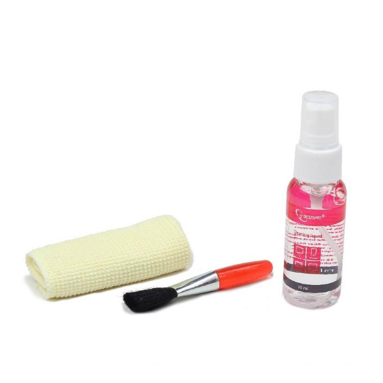 CLEANING KIT FOR SCREEN 3IN1/CK-LCD-04 GEMBIRD tīrīšanas līdzeklis