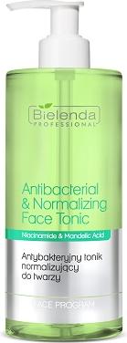 Bielenda Professional Antibacterial & Normalizing Face Tonic Antibacterial facialising tonic 500ml