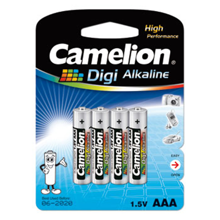 Camelion Digi Alkaline AAA (LR03), 4-pack Baterija