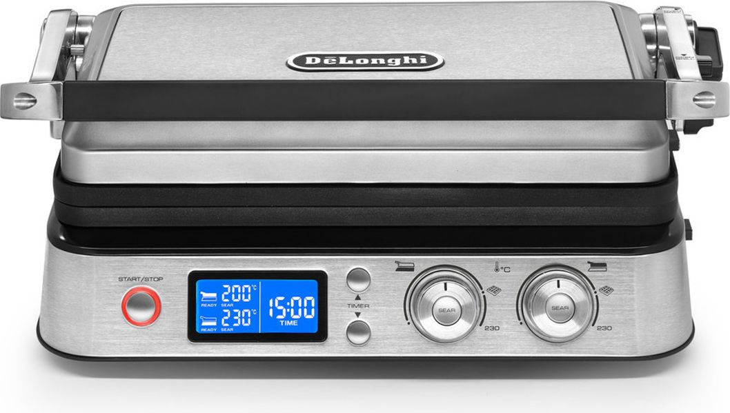 DeLonghi CGH1030D ( Contact grill ; 2000 W ; silver color ) Galda Grils