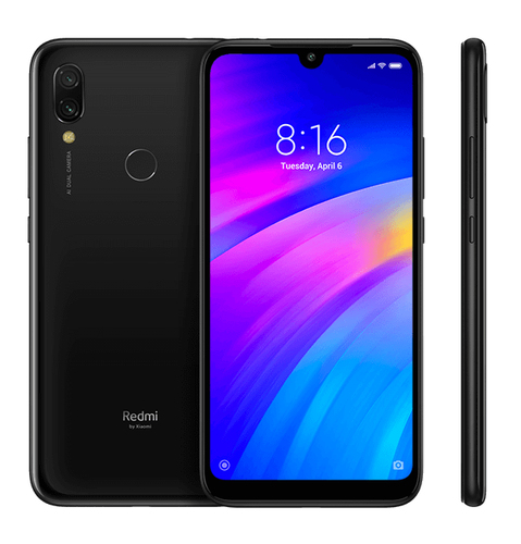 Xiaomi Redmi 7 2GB/16GB Black Mobilais Telefons