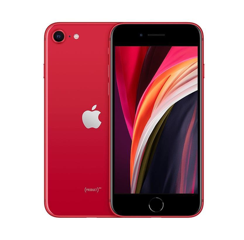 Apple iPhone SE Red, 4.7 , Retina IPS LCD, 750 x 1334 pixels, Apple A13 Bionic, Internal RAM 3 GB, 64 GB, Dual SIM, nano-SIM and eSIM, 3G, 4 Mobilais Telefons