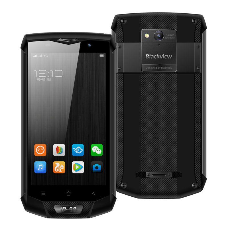 Blackview BV8000 Pro 6GB/64GB grey (Atjaunots, garantija 1 gads) Mobilais Telefons