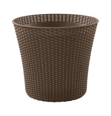 KETER Conic Planter 231359 (540mm x 487mm x 540 mm; mocha color)