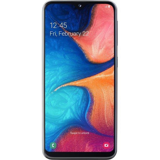 Samsung Galaxy A20e 3GB/32GB Black Mobilais Telefons