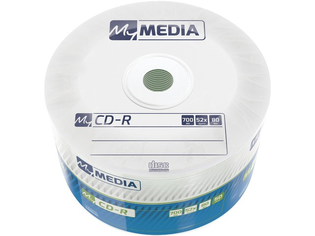 CD-R My Media 700MB Wrap (50 spindle) matricas