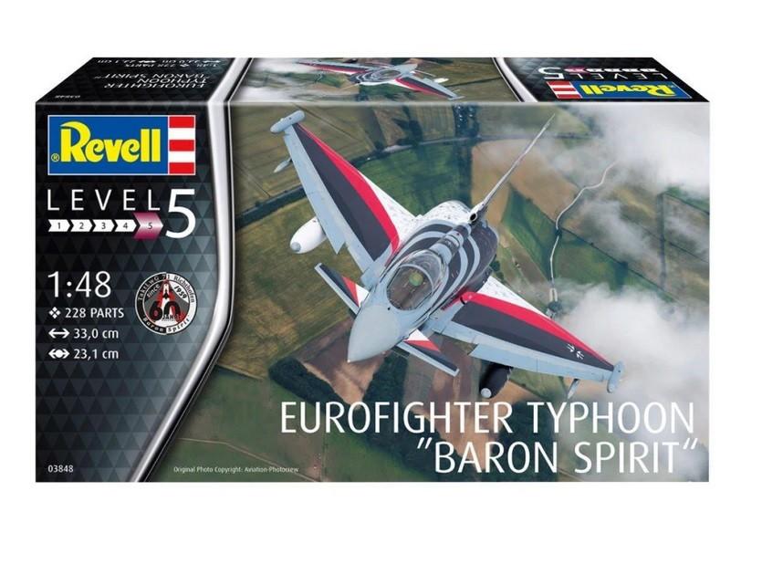 Revell Plastic model Eurofighter Typhoon Baron S 1/48 Rotaļu auto un modeļi