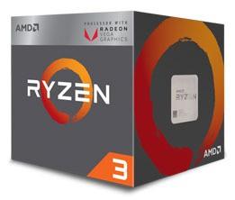 AMD Ryzen 3 3200G, 3.60 GHz CPU, procesors