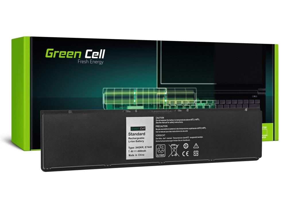 Green Cell 34GKR F38HT for Laptopa Dell Latitude E7440 (DE93) akumulators, baterija portatīvajiem datoriem