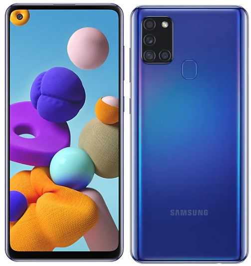 Samsung A217F/DSN Galaxy A21s Dual LTE 32GB blue A217F/DSN  blue Mobilais Telefons