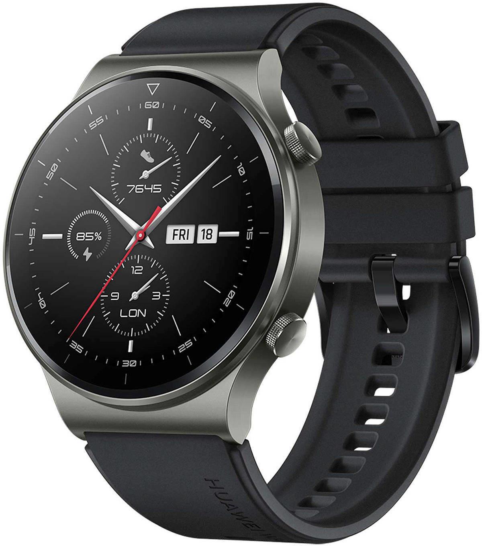 Huawei Watch GT 2 Pro Sport 46mm Night Black Viedais pulkstenis, smartwatch