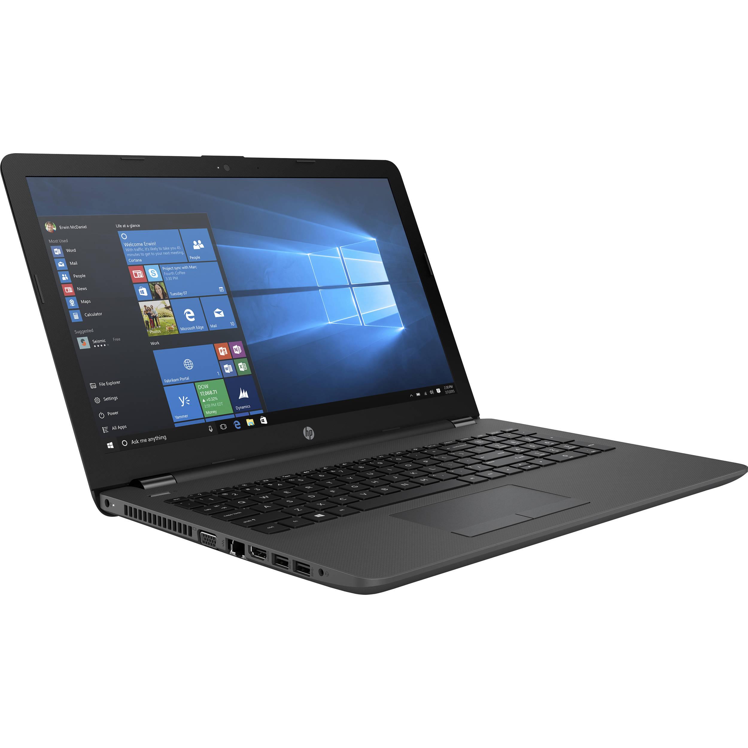 """HP 250 G6 15""""/i3-6006U/4GB/128GB SSD/DVD/Win10 PRO Portatīvais dators"""