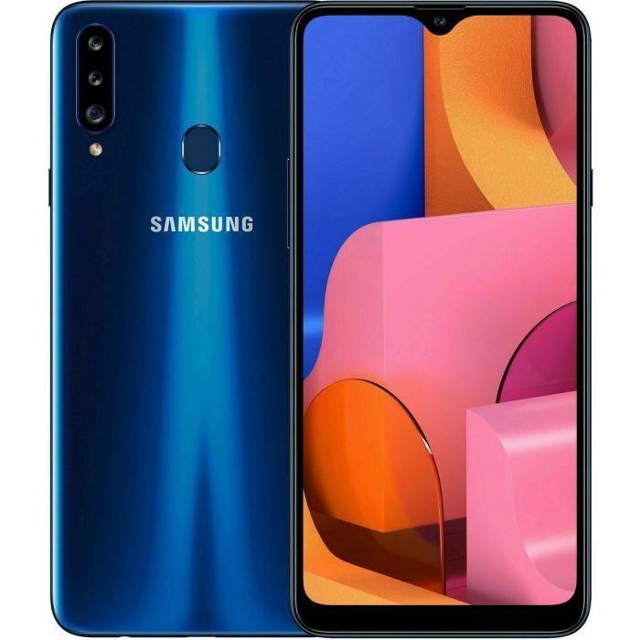 Samsung A207F/DS Galaxy A20s Dual LTE 32GB Blue A207F/DS Blue Mobilais Telefons