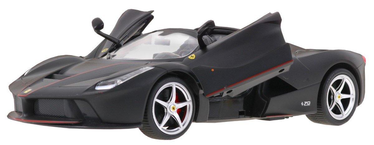 Rastar Radiovadāmā mašīna Ferrari LaFerrari 1:14 / 2.4 GHz / 2WD / Melna Radiovadāmā rotaļlieta