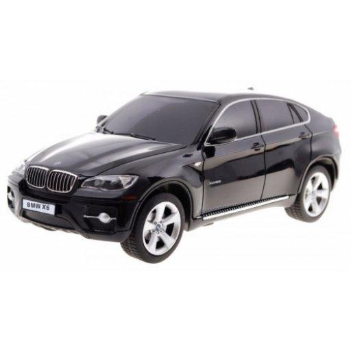 Rastar Radiovadāmā mašīna BMW X6 1:24 / 2.4 GHz / 2WD / Melna Radiovadāmā rotaļlieta