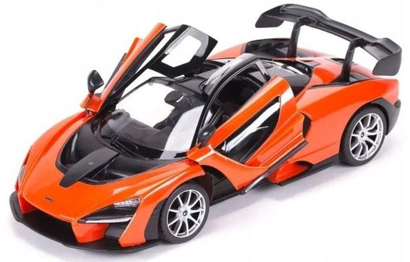 Rastar Radiovadāmā mašīna McLaren Senna 1:14 / 2.4 GHz / 2WD / Oranža Radiovadāmā rotaļlieta