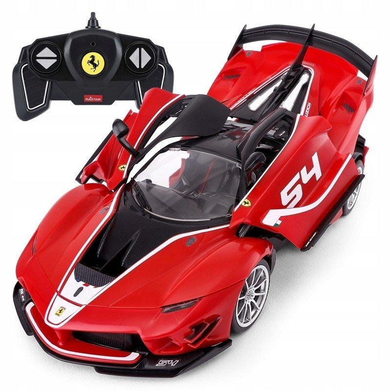 Rastar Radiovadāmā mašīna Ferrari FXX-K 1:18 / 2.4 GHz / 2WD / Sarkana Radiovadāmā rotaļlieta