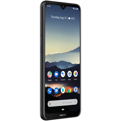 Nokia 7.2 Dual SIM 64GB TA-1196 Charcoal Mobilais Telefons