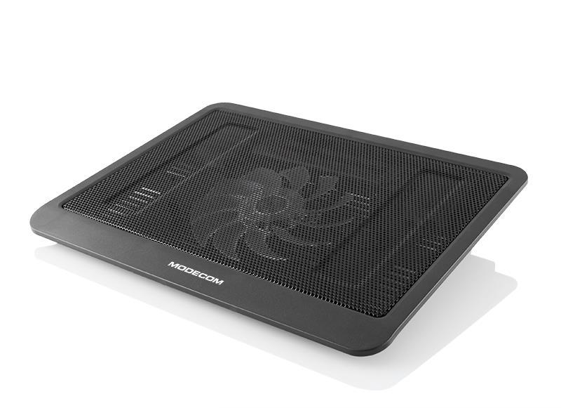 MODECOM NOTEBOOK COOLER SILENT FAN MC-CF13 portatīvā datora dzesētājs, paliknis