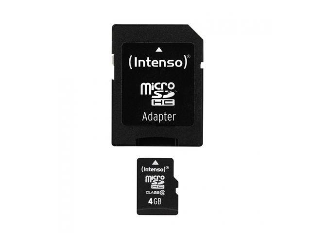 Intenso micro SD 4GB SDHC card class 10 atmiņas karte