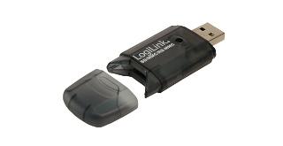 Logilink Cardreader USB 2.0 Stick, SD Format karšu lasītājs
