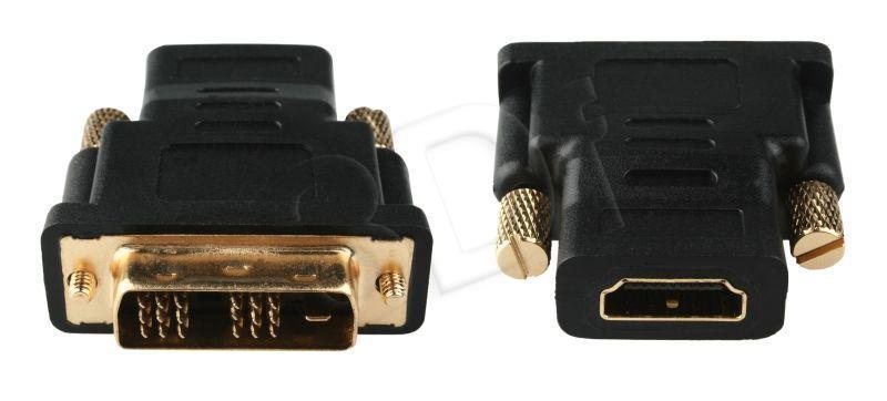 GEMBIRD  A-HDMI-DVI-2 (HDMI F - DVI M; black color)