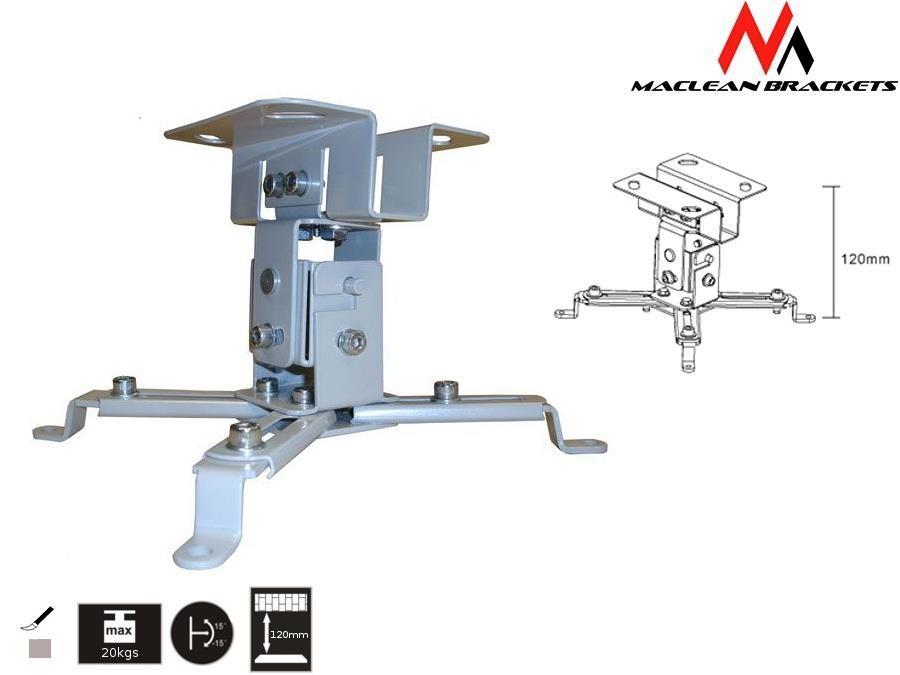 Projector mount mc-582   12cm 20kg Stiprinājumi projektoriem