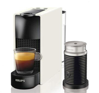Krups Nespresso Essenza Mini & Aeroccino3 - white Kafijas automāts