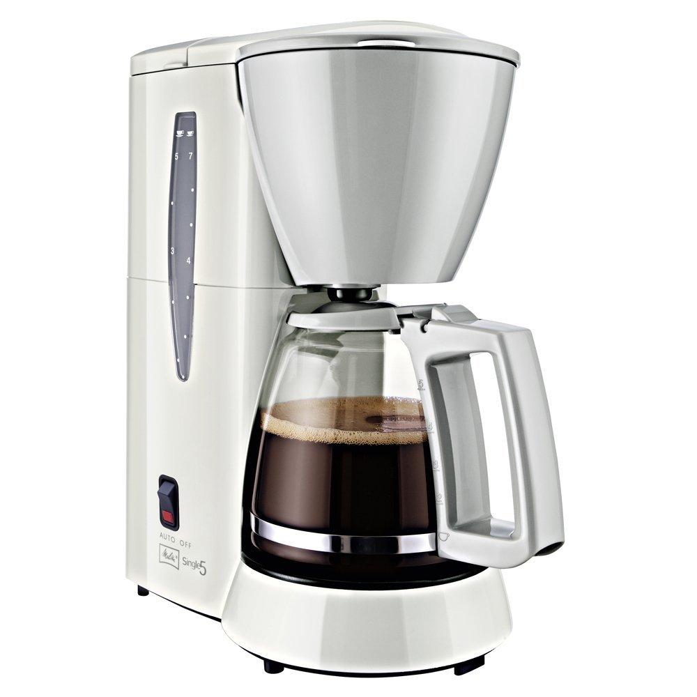 Melitta M 720-1/1 Single 5 Filterkaffeemaschine white/Grau Kafijas automāts