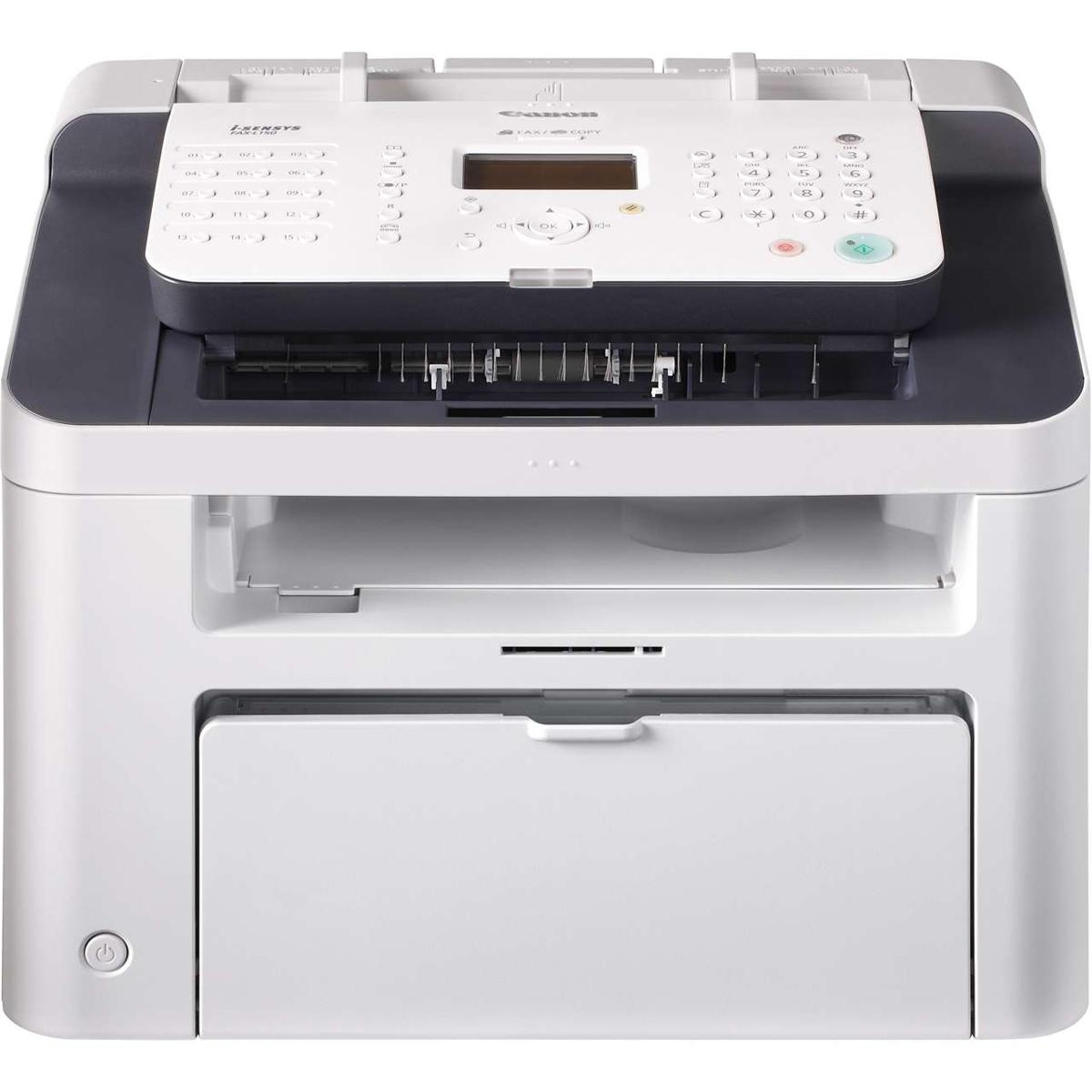Canon i-SENSYS FAX-L150 Laser-Multifunktionsfax s/w 5258B051(A4, 3-in-1, Drucker, Kopierer, Fax, USB, ADF)