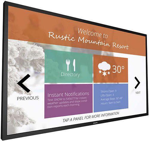 Dis Public 75 Philips 75BDL3010 TOUCH 4k publiskie, komerciālie info ekrāni