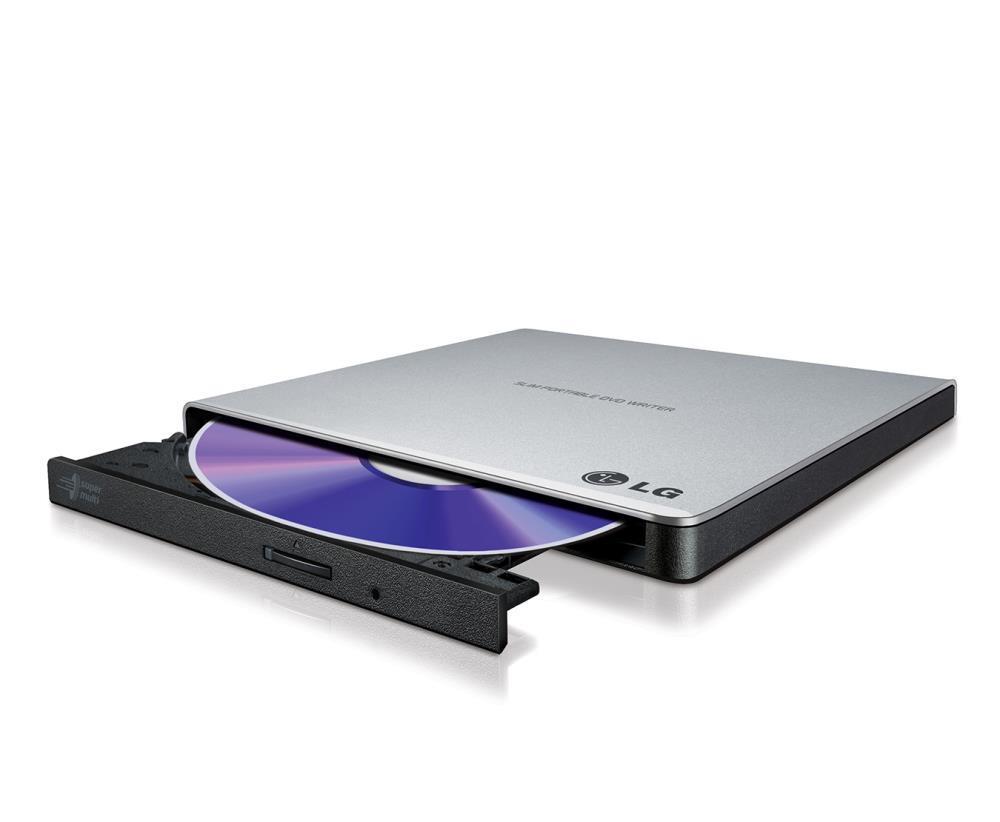 Hitachi-LG SuperMulti DVD+/-RW GP57ES40 Silver diskdzinis, optiskā iekārta