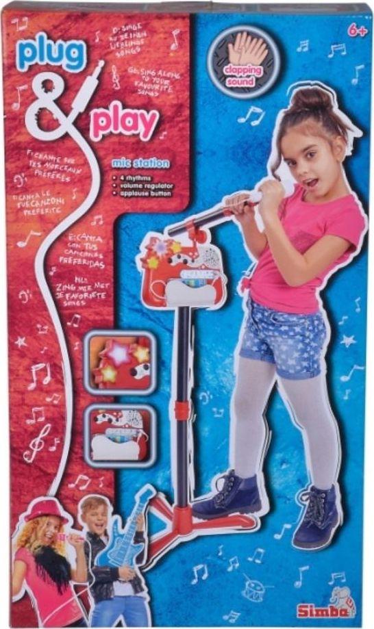 Simba MMW Plug i Play zestaw muzyczny 2w1 w pudelku SIMBA 106834432